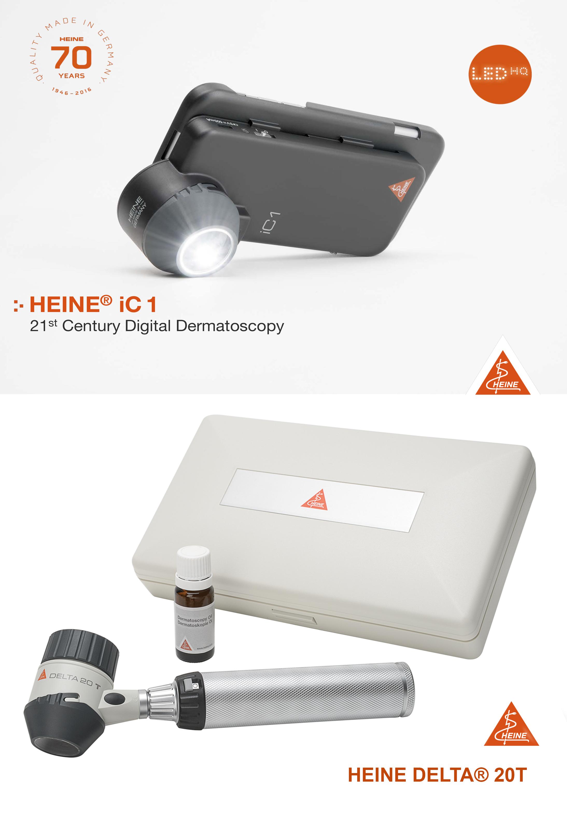 Heine Dermatoscope - website